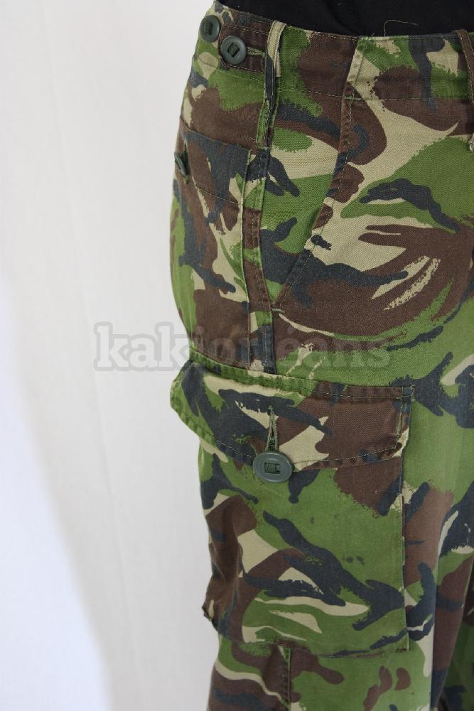 Pantalon dpm arm e anglaise occasion dans rayon titre - Treillis militaire occasion ...