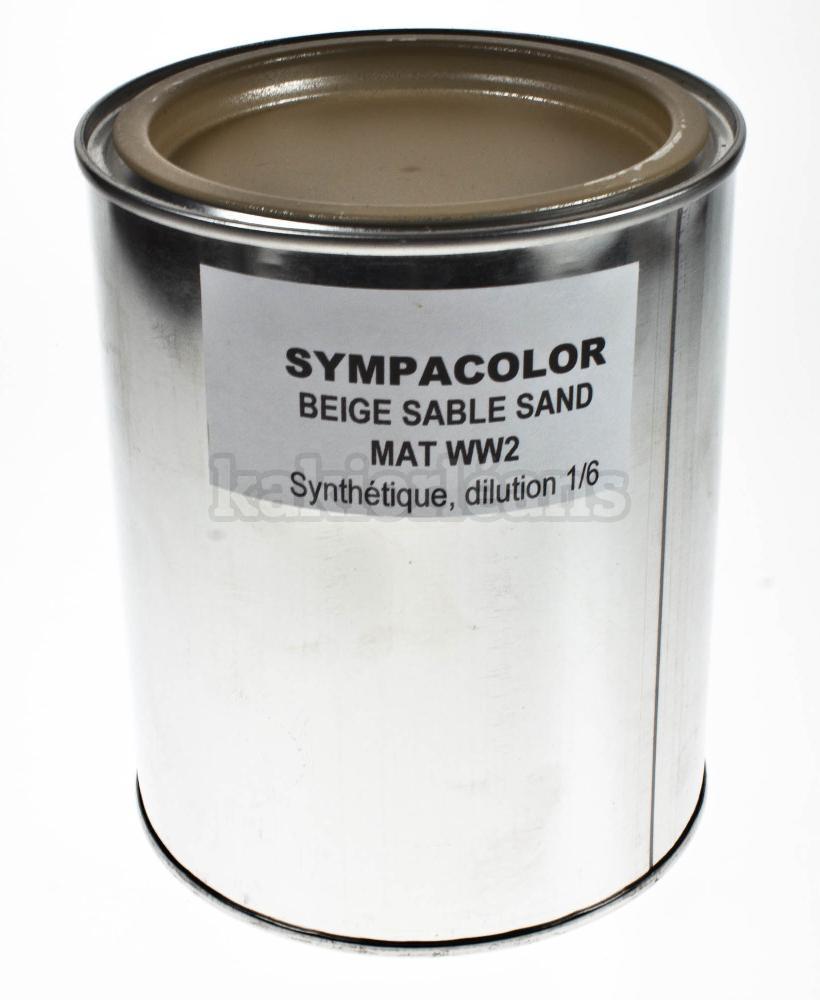 peinture en pot 1 litre sympacolor dans rayon titre. Black Bedroom Furniture Sets. Home Design Ideas