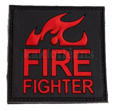 Patch 3D Fire Fighter.