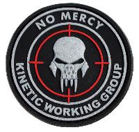 Patch 3D NO MERCI KINETIC WORKING GROUP.