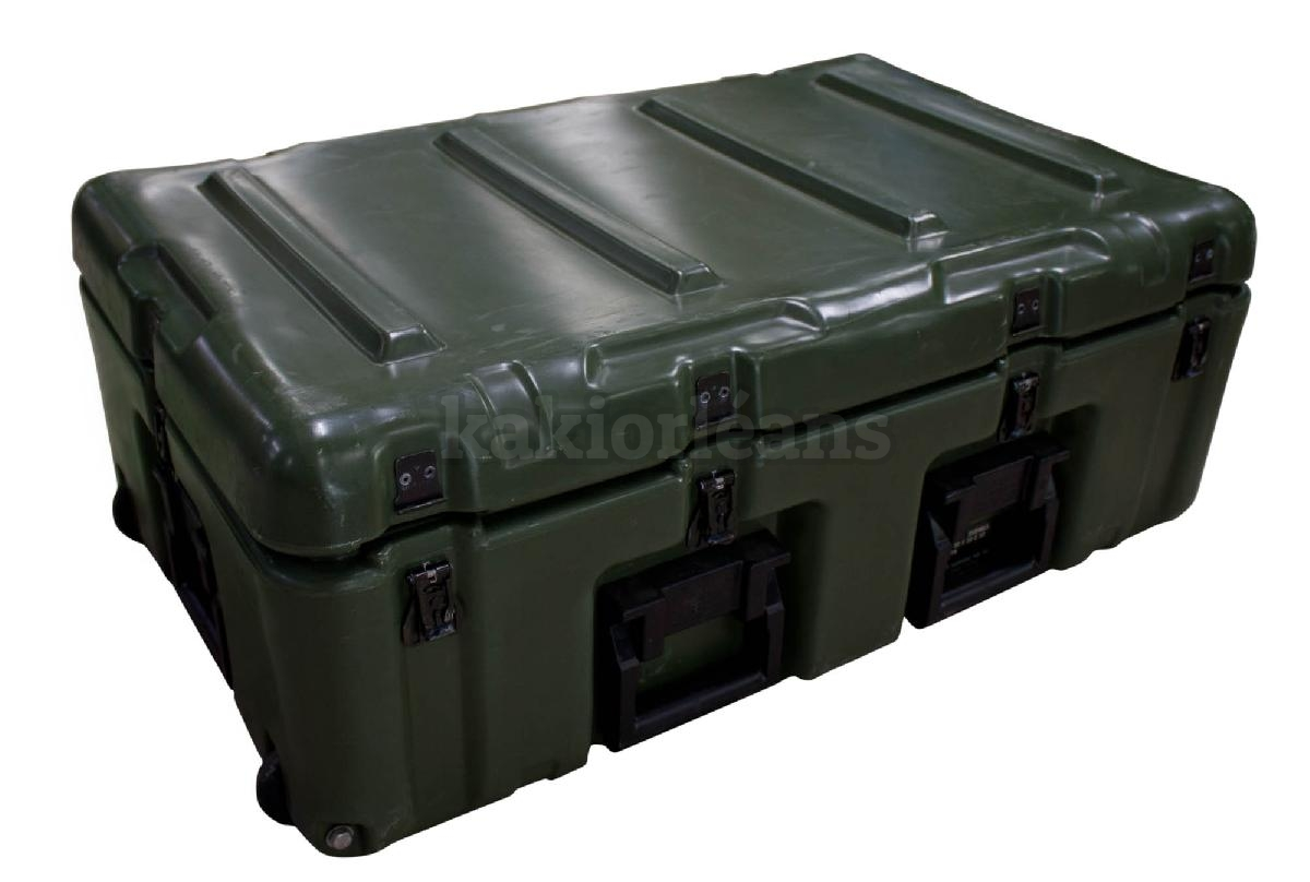 caisse militaire plastique tanche original us kaki dans rayon titre. Black Bedroom Furniture Sets. Home Design Ideas