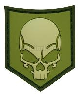 Patch 3D SOF SKULL.