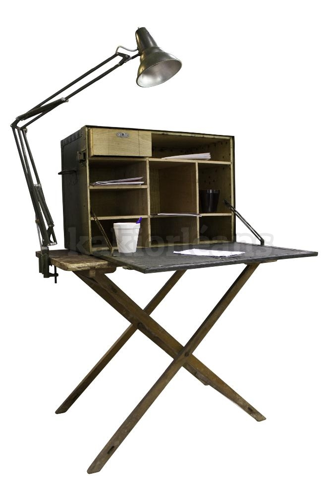bureau de campagne original arm e francaise dans rayon titre. Black Bedroom Furniture Sets. Home Design Ideas