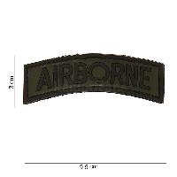 Patch 3D PVC demi lune AIRBONNE