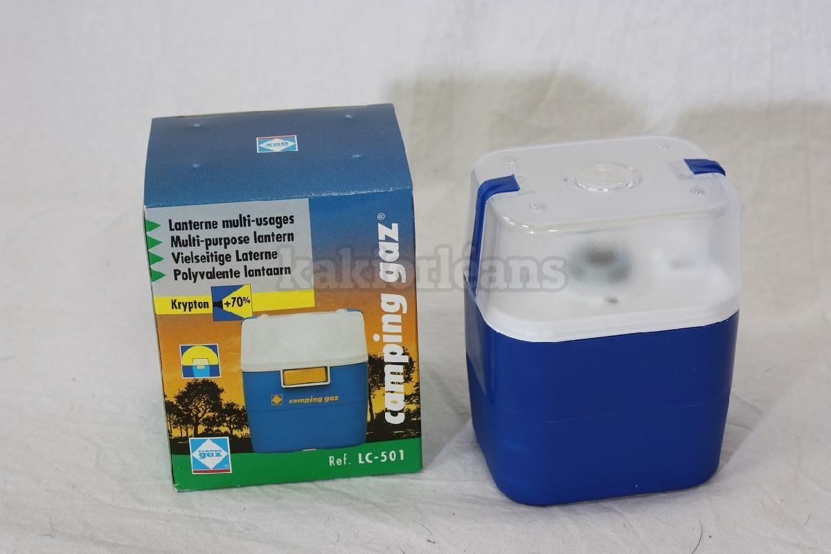 Lampe multi usages camping gaz lc 501 dans rayon titre - Lampe camping gaz ...