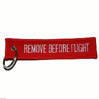 Porte clés REMOVE BEFORE FLIGHT